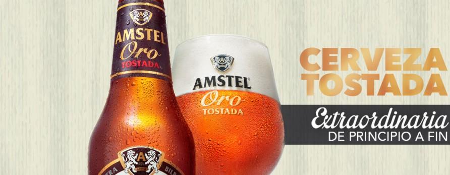 Amstel Oro, la verdadera tostada