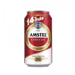 Amstel lata 33 cl