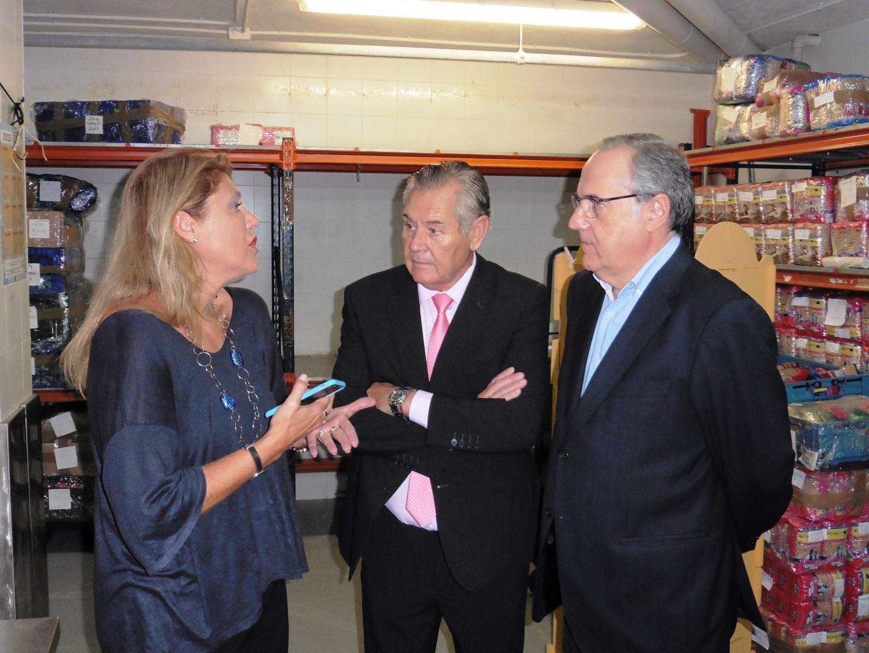 Guadalupe Ferrer, Enrique Torregrosa y Rafael Olivas