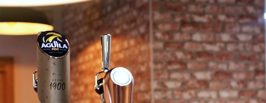 Cerveza El Águila Sin Filtrar, la esencia del lúpulo y la malta en boca